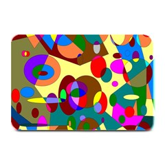 Abstract Digital Circle Computer Graphic Plate Mats