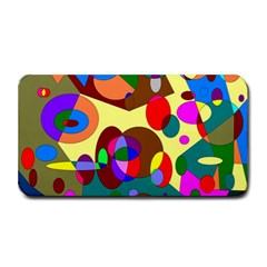 Abstract Digital Circle Computer Graphic Medium Bar Mats