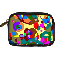 Abstract Digital Circle Computer Graphic Digital Camera Cases