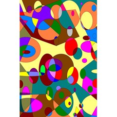 Abstract Digital Circle Computer Graphic 5 5  X 8 5  Notebooks
