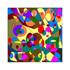 Abstract Digital Circle Computer Graphic Acrylic Tangram Puzzle (6  x 6 )