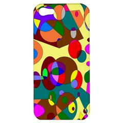 Abstract Digital Circle Computer Graphic Apple iPhone 5 Hardshell Case
