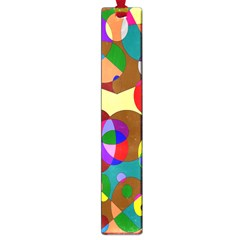 Abstract Digital Circle Computer Graphic Large Book Marks