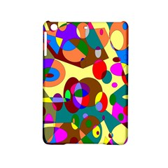Abstract Digital Circle Computer Graphic iPad Mini 2 Hardshell Cases