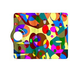 Abstract Digital Circle Computer Graphic Kindle Fire Hdx 8 9  Flip 360 Case