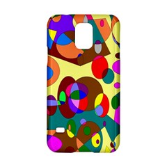 Abstract Digital Circle Computer Graphic Samsung Galaxy S5 Hardshell Case