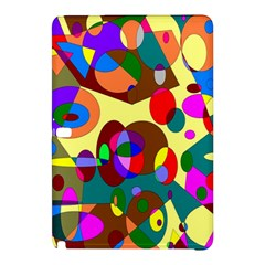 Abstract Digital Circle Computer Graphic Samsung Galaxy Tab Pro 10 1 Hardshell Case