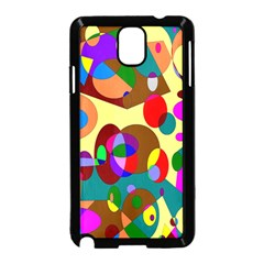 Abstract Digital Circle Computer Graphic Samsung Galaxy Note 3 Neo Hardshell Case (black)
