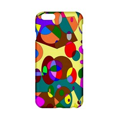 Abstract Digital Circle Computer Graphic Apple iPhone 6/6S Hardshell Case