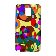 Abstract Digital Circle Computer Graphic Samsung Galaxy Note 4 Hardshell Case