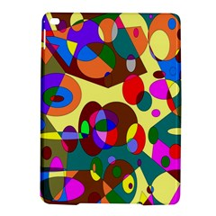 Abstract Digital Circle Computer Graphic iPad Air 2 Hardshell Cases