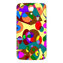 Abstract Digital Circle Computer Graphic Samsung Galaxy Mega I9200 Hardshell Back Case
