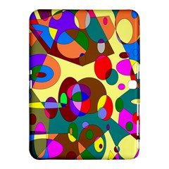Abstract Digital Circle Computer Graphic Samsung Galaxy Tab 4 (10 1 ) Hardshell Case
