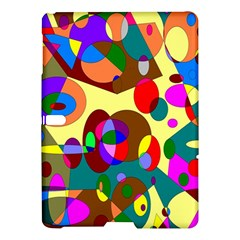 Abstract Digital Circle Computer Graphic Samsung Galaxy Tab S (10.5 ) Hardshell Case