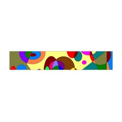 Abstract Digital Circle Computer Graphic Flano Scarf (mini)