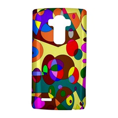 Abstract Digital Circle Computer Graphic LG G4 Hardshell Case