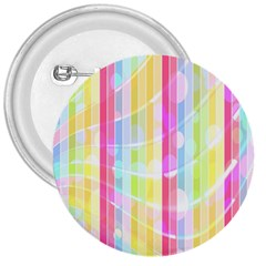 Abstract Stipes Colorful Background Circles And Waves Wallpaper 3  Buttons
