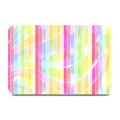 Abstract Stipes Colorful Background Circles And Waves Wallpaper Plate Mats