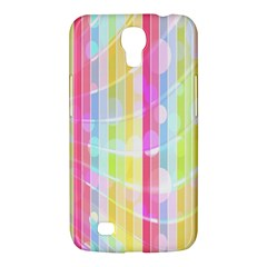 Abstract Stipes Colorful Background Circles And Waves Wallpaper Samsung Galaxy Mega 6 3  I9200 Hardshell Case