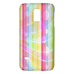 Abstract Stipes Colorful Background Circles And Waves Wallpaper Galaxy S5 Mini