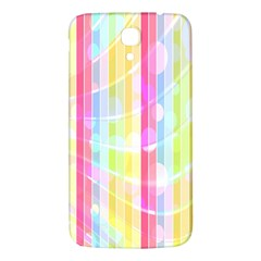 Abstract Stipes Colorful Background Circles And Waves Wallpaper Samsung Galaxy Mega I9200 Hardshell Back Case