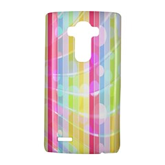 Abstract Stipes Colorful Background Circles And Waves Wallpaper Lg G4 Hardshell Case