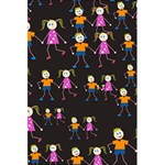 Kids Tile A Fun Cartoon Happy Kids Tiling Pattern 5.5  x 8.5  Notebooks Front Cover
