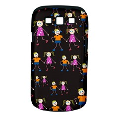 Kids Tile A Fun Cartoon Happy Kids Tiling Pattern Samsung Galaxy S III Classic Hardshell Case (PC+Silicone)