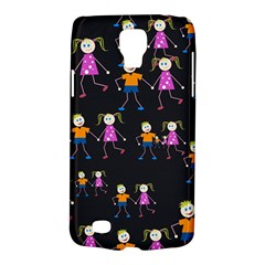 Kids Tile A Fun Cartoon Happy Kids Tiling Pattern Galaxy S4 Active