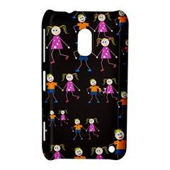 Kids Tile A Fun Cartoon Happy Kids Tiling Pattern Nokia Lumia 620