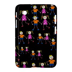 Kids Tile A Fun Cartoon Happy Kids Tiling Pattern Samsung Galaxy Tab 2 (7 ) P3100 Hardshell Case