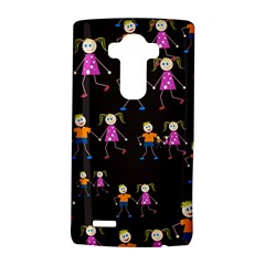 Kids Tile A Fun Cartoon Happy Kids Tiling Pattern LG G4 Hardshell Case