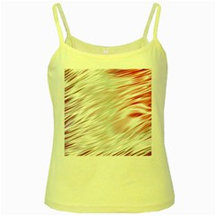 Fluorescent Flames Background With Special Light Effects Yellow Spaghetti Tank