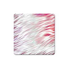 Fluorescent Flames Background With Special Light Effects Square Magnet