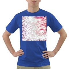 Fluorescent Flames Background With Special Light Effects Dark T-Shirt