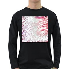 Fluorescent Flames Background With Special Light Effects Long Sleeve Dark T-Shirts