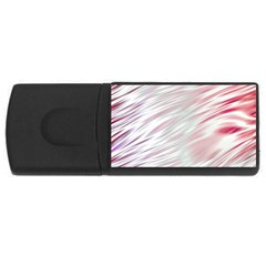 Fluorescent Flames Background With Special Light Effects USB Flash Drive Rectangular (4 GB)