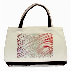 Fluorescent Flames Background With Special Light Effects Basic Tote Bag