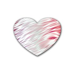 Fluorescent Flames Background With Special Light Effects Heart Coaster (4 Pack)