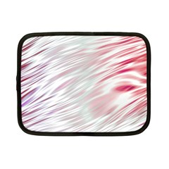 Fluorescent Flames Background With Special Light Effects Netbook Case (Small)