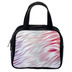 Fluorescent Flames Background With Special Light Effects Classic Handbags (One Side)