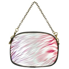 Fluorescent Flames Background With Special Light Effects Chain Purses (two Sides)
