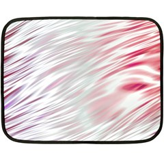 Fluorescent Flames Background With Special Light Effects Fleece Blanket (Mini)