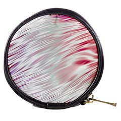 Fluorescent Flames Background With Special Light Effects Mini Makeup Bags