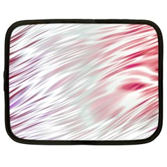 Fluorescent Flames Background With Special Light Effects Netbook Case (XXL)