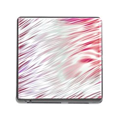 Fluorescent Flames Background With Special Light Effects Memory Card Reader (Square)