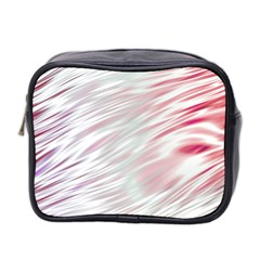 Fluorescent Flames Background With Special Light Effects Mini Toiletries Bag 2-Side