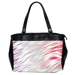 Fluorescent Flames Background With Special Light Effects Office Handbags (2 Sides)