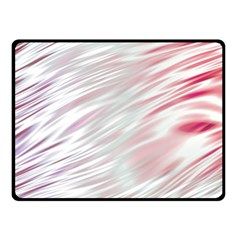 Fluorescent Flames Background With Special Light Effects Fleece Blanket (Small)