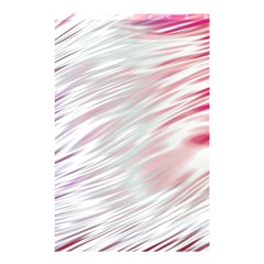 Fluorescent Flames Background With Special Light Effects Shower Curtain 48  x 72  (Small)